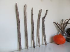 "5 Quality Driftwood Rods For DIY Driftwood Wall Hanging Crafts 12-13"" by LonelyBeach on Etsy"