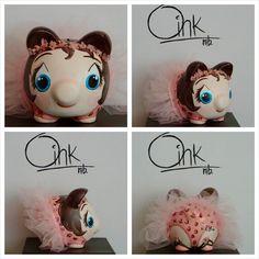 Ideal para las princesas del hogar Oink mb alcancias