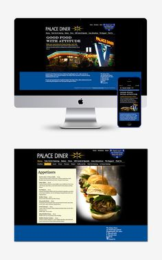 Palace Diner Website Design