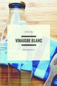 Les indispensables #1: le vinaigre blanc