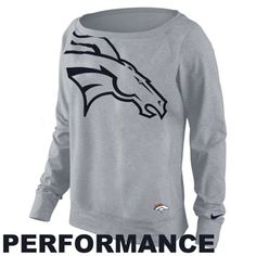 Nike Denver Broncos Ladies Wildcard Epic Crew Sweatshirt. This looks too comfy. I'd never take it off.