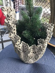 DIY Concrete Planters, Ideas for Outdoor Home Decorating with Flowers - Salvabra. DIY Concrete Planters, Ideas for Outdoor Home Decorating with Flowers - Salvabrani Cement Flower Pots, Diy Concrete Planters, Cement Art, Concrete Crafts, Concrete Garden, Outdoor Planters, Garden Crafts, Diy Garden Decor, Garden Projects