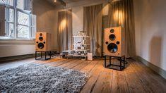 High end audio audiophile music listening room  Harbeth