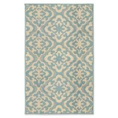 Product Image for Jean Pierre Elizabeth Loop Rug in Mineral Blue/Berber 1 out of 5