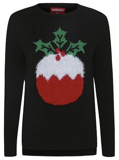 Christmas Pudding Jumper, read reviews and buy online at George at ASDA. Shop from our latest range in Women. Treat yourself to something tasty and pick up t...