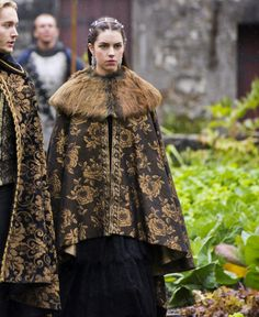 Adelaide Kane as Mary Stuart, Queen of Scots in Reign (TV Series, 2014). [x]