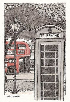 phonebox by petescully, via Flickr