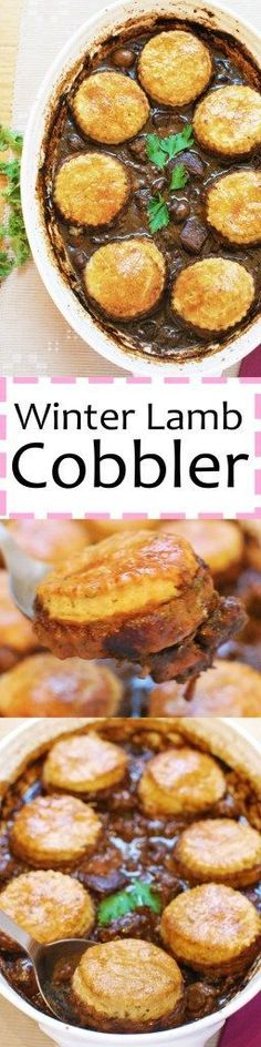 This warming, fragrant lamb cobbler is the perfect way to keep cozy during the long winter months. A simple but impressive dish that never fails!