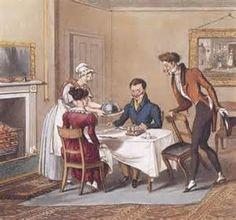 A lot about regency era food