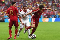 http://www.sportyghost.com/spain-vs-chile-defending-champions-are-the-first-to-be-eliminated/  Spain vs Chile: Defending Champions are the first to be eliminated!