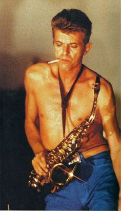 David, could've been a 1920's jazz musician, but he would have to wear a shirt & tie.