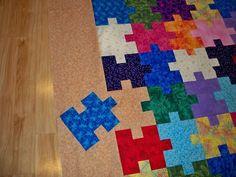 *Puzzle Quilt on excel (designing)
