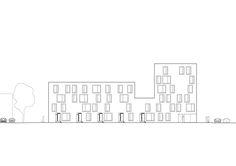 Hollande Béthune Social Housing,Elevation 01
