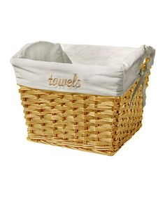 Take a look at this Honey Willow Basket by Organize It All on #zulily today!