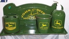 John Deere Bathroom Accessories Josael Images About Pinterest Home Kitchen Bath Accessory