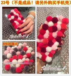 2組送料無料韓国CXXEL新しい秋と冬の色カシミヤのセーターのウールのボール選手ケーシングDIY材料のパッケージ