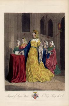 Margaret of Anjou, Queen of Henry VI of England - kings-and-queens Photo