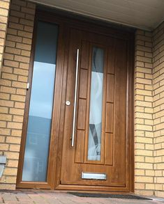 An industry-leading manufacturer of tailor-made composite doors, stable doors and french doors with unmatched strength and security. Oak Front Door, Back Doors, Main Door Design, Composite Door, Light Oak, Barn, Industrial, House, Doors
