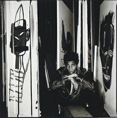 Jean-Michel Basquiat   by David Bailey, c1989