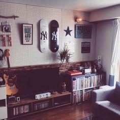 DIY/レコード/ロックンウォール/A TWO PIPE PROBLEM /マリンランプ…などのインテリア実例 - 2015-05-04 21:01:56   RoomClip(ルームクリップ)