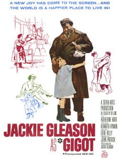"""""""Gigot"""" (1962) Jackie Gleason plays Gigot, a lumbering but lovable mute Parisian derelict. Shunned by the """"respectable"""" people around him, Gigot is beloved by the children. One of the kids, a little girl, is the melancholy daughter of an insensitive prostitute. Gigot befriends the lonely child and protects her. Hilarious and genuinely poignant moments shine through in this Chaplinesque tour de force for Jackie Gleason, who not only starred but wrote the script and the musical score."""