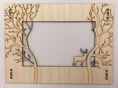 Laser+cut+Forest+Frame+by+Chemist.