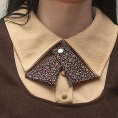 """I don't normally wear collared shirts due to my lack of neck and feeling choked when things are too close to my neck - but I wonder how this """"lady tie"""" would fare as a necklace of sorts?"""