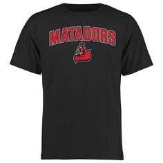 Cal State Northridge Matadors Proud Mascot T-Shirt - Black