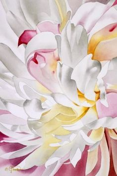 Abstract+Peony+I,+painting+by+artist+Jacqueline+Gnott
