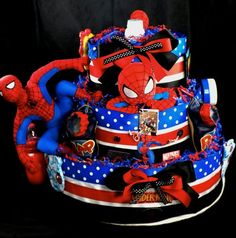 Holy spiderman cake, that's fantastic.   This reminds me of Blaire.