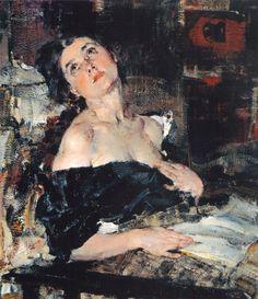 Lady in Black. Nicolai Fechin (Russian, 1881-1955).