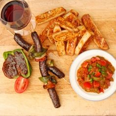 Natasha Silva serves up South African cuisine with her #recipe of fruity ostrich skewers, pap chips and chakalaka #freshlyblogged  #picknpay