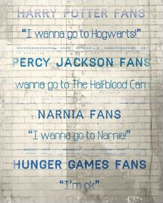 Percy Jackson and Hunger Games