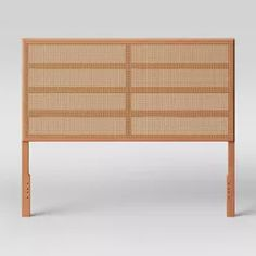 Queen Minsmere Caned Headboard Natural Brown - Opalhouse™