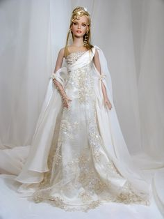 beautiful bride Barbie.