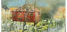 Peter Doig - Red House, oil on canvas 2.0x2.5m 1995-1996 $21,127,500 Nov17
