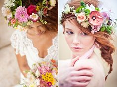 flower crown with twigs - Google Search