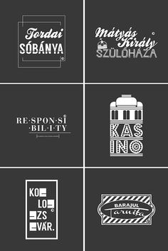 Typography for #totemCLUJ2015 on Behance