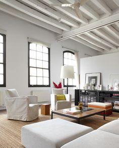 "Un espléndido loft, muy ""newyorker"", en Barcelona                    Etxekodeco"