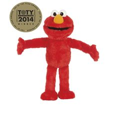 Amazon.com: Playskool Sesame Street Big Hugs Elmo Plush: Toys & Games
