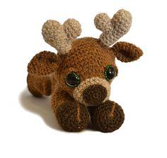Marley The Reindeer Amigurumi Pattern