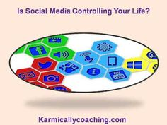 Is Social Media Controlling Your Life? If you find yourself more interested in the latest fun quiz or checking if you've missed out on some update on Facebook rather than checking if the larder is stocked with food, then dear friend, #Social Media has taken over. Here's what you need to do - visit  The Karmic Ally Coaching Experience Blog post and fix things.