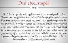 Don't feel Stupid . .