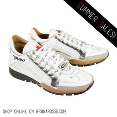 Dsquared Sneakers White&Gold