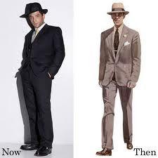 anos 50  Os homens não saiam de casa sem chapéu!