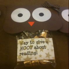@Sara Perry  Owl Reading Award