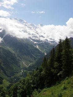 The Lauterbrunnen Valley Bernese Oberland Switzerland June