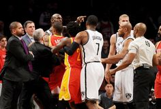 VIDEO: Kevin Garnett ejected for head-butting Dwight Howard as Nets drop sixth straight in 113-99 loss to Rockets - NEW YORK DAILY NEWS #Nets, #Rockets