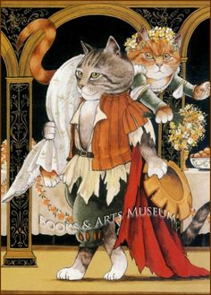 Susan Herbert: Shakespeare, Taming Of The Shrew Cat Art Print in Art, Art from Dealers & Resellers, Prints | eBay!