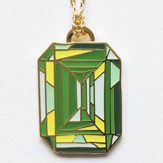 Emerald Pendant - pr